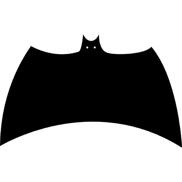 626x626 Bat Black Silhouette Variant With Extended Wings Icons Free Download