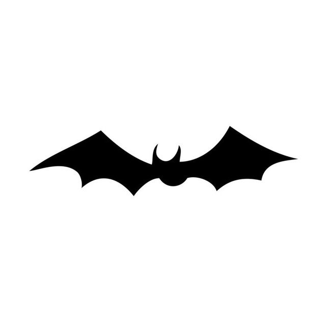 Bats Flying Silhouette
