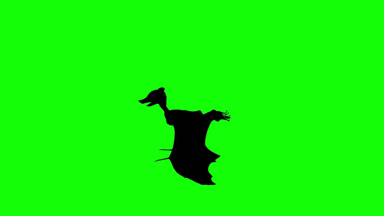 1280x720 Free Hd Video Backgrounds Animal Silhouette Bat Flying Side View
