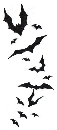 236x537 Nightmare Before Christmas Bats Tattoo Designs Amp Ideas