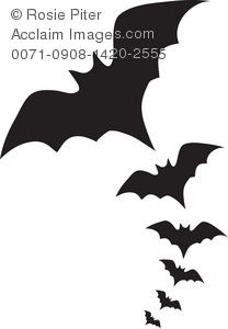 208x300 Vampire Bats Clipart Image Scary Bats Flying Through The Sky