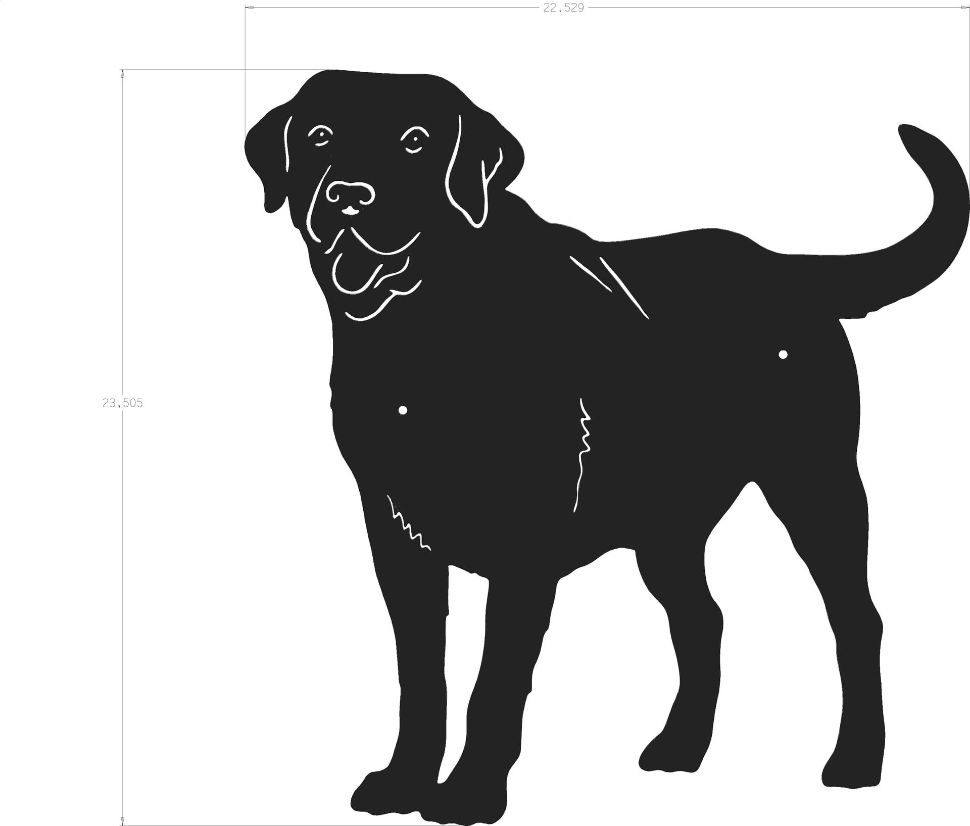 1920x1635 Dog Silhouette