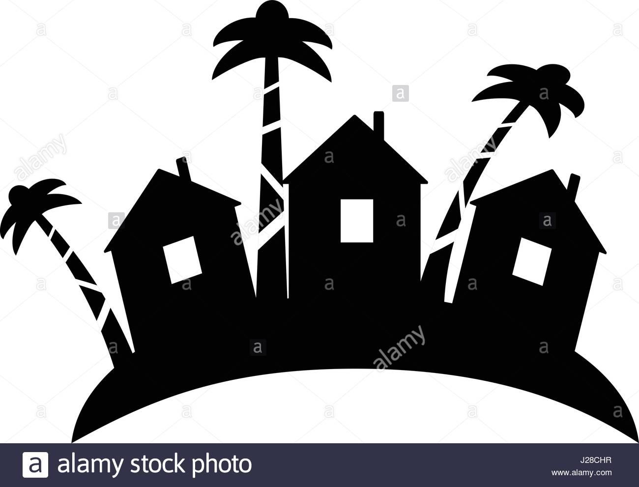 1300x991 Beach Hut Stock Vector Images