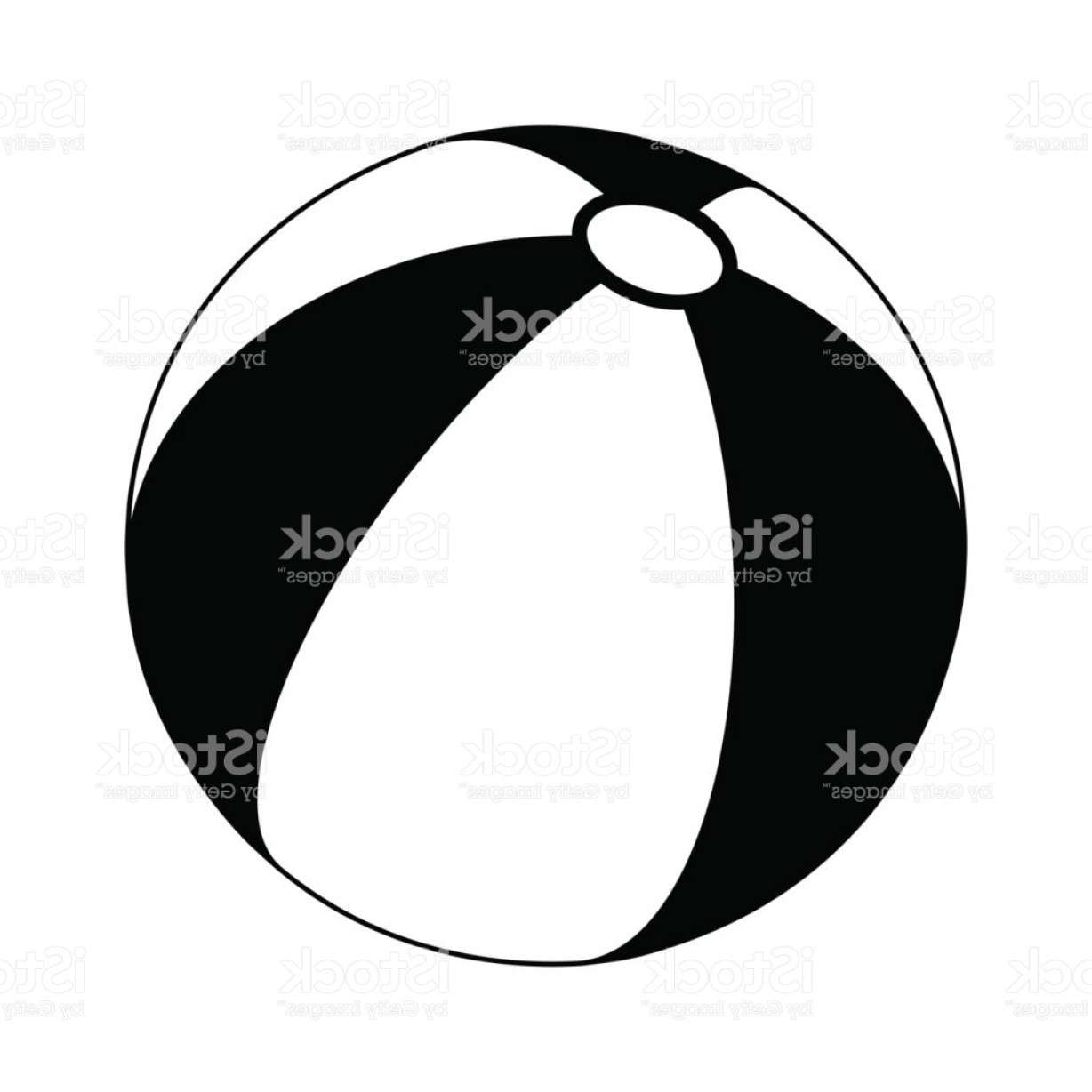 1228x1228 Beach Ball Silhouette Vector Symbol Icon Design Gm Createmepink