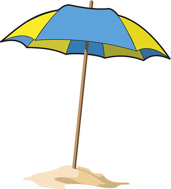 553x612 Beach Umbrella Clipart