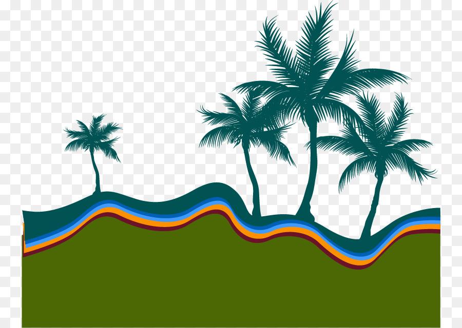 900x640 Beach Silhouette Arecaceae Illustration