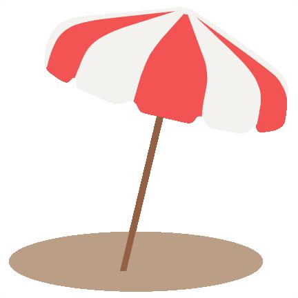 432x432 Beach Umbrella Svg Scrapbook Cut File Cute Clipart Files
