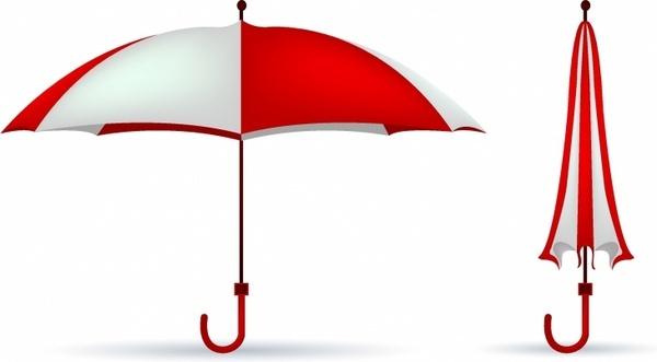 600x331 Beach Umbrella Vector Free Vector Download (1,207 Free Vector)