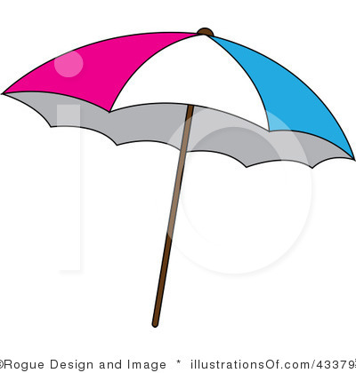 400x420 Clipart Of Beach Umbrella 101 Clip Art