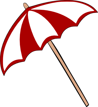 379x416 Beach Umbrella Svg Svg File, Filing And Beach