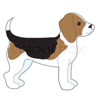 Beagle Dog Silhouette