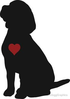 236x330 Beagle Puppy Dog Silhouette