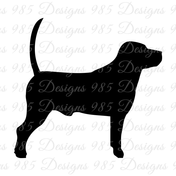 570x570 Beagle Dog Svg For Cricut And By 985 Graphic Designs On Zibbet