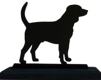 340x270 Beagle Dog Silhouette 5 X 6 Great Gifts For Anyone That Likes