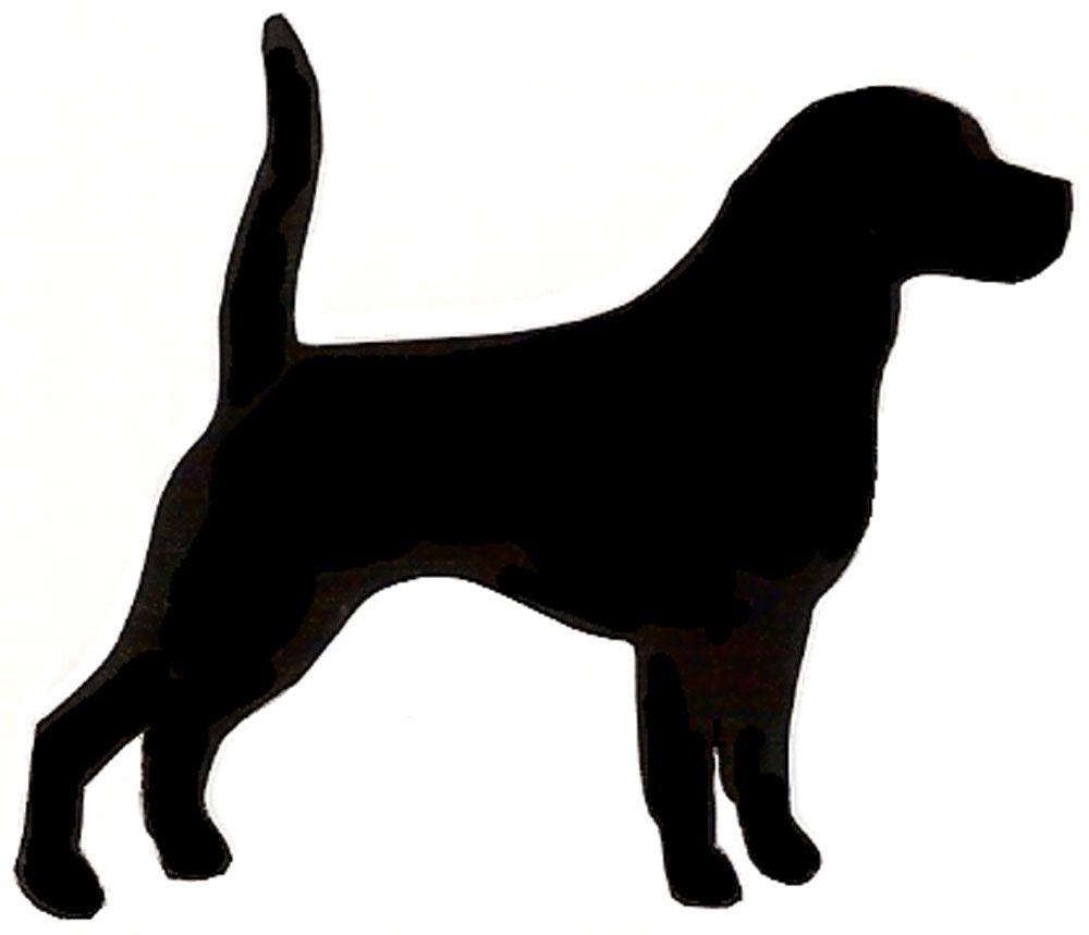 Beagle Silhouette Clip Art