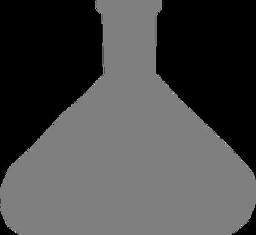 500x458 Beaker Silhouette Image Public Domain Vectors