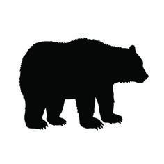 236x236 Bear Cub Silhouette Cricut Silhouettes, Bears