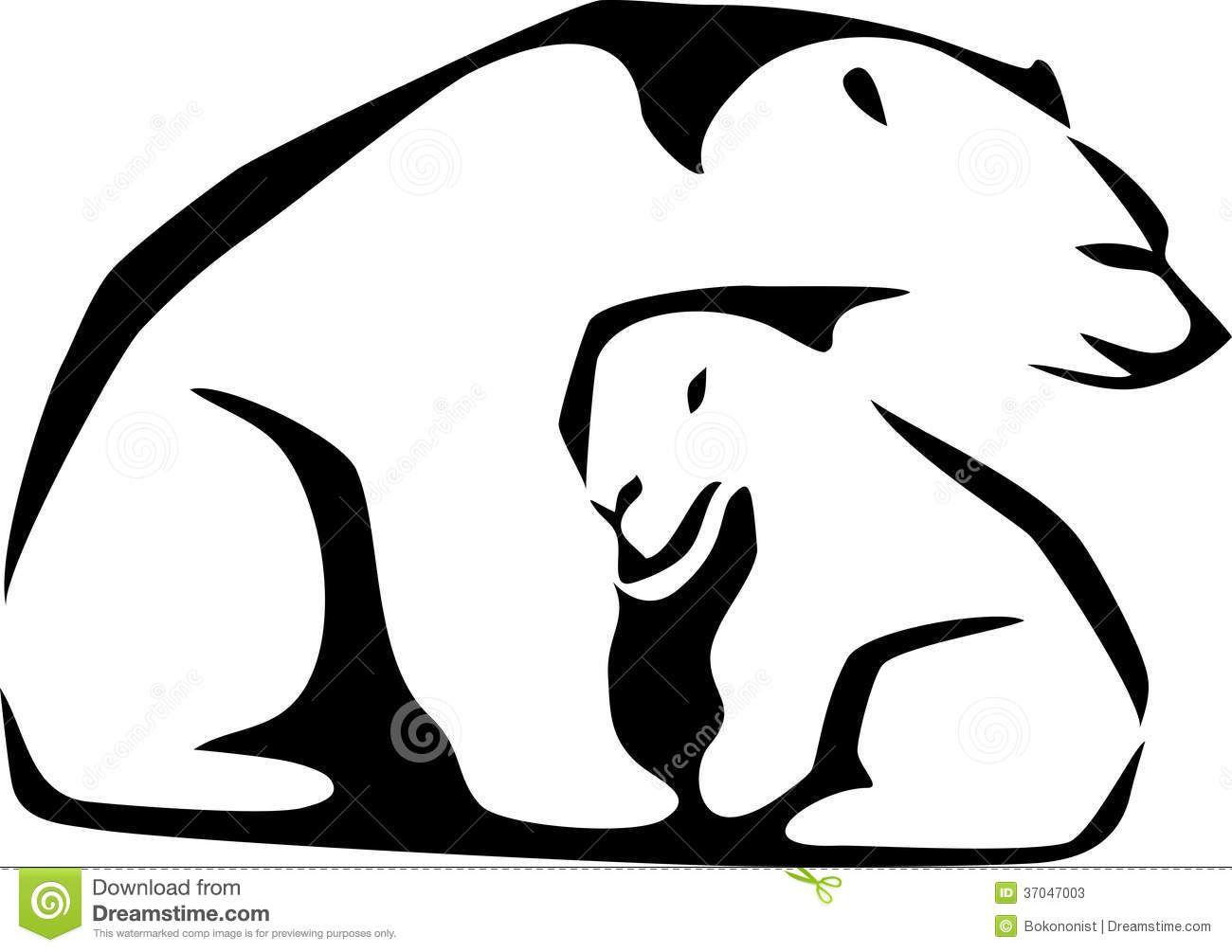 1300x1005 Mother Polar Bear And Cubs