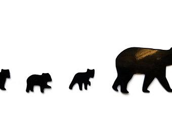 340x270 Bear Explore Sticker Etsy
