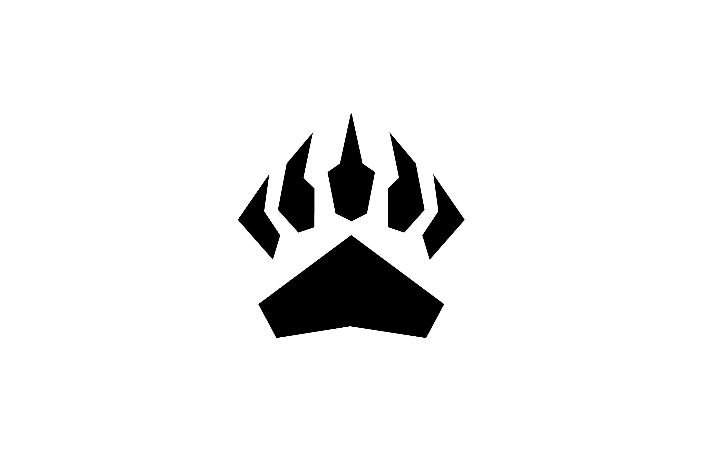 2736x1828 Grizzly Bear Logo Design