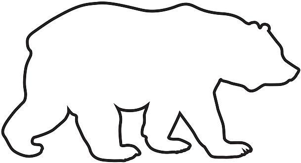 609x330 Interesting Idea Outline Of A Bear