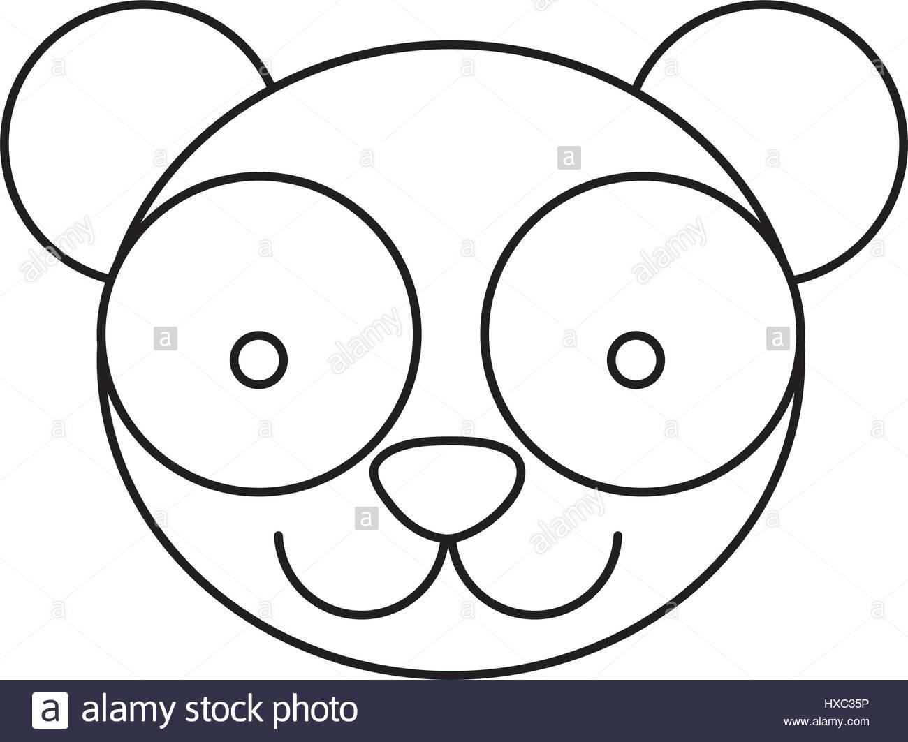 1300x1063 Panda Bamboo Stock Vector Images