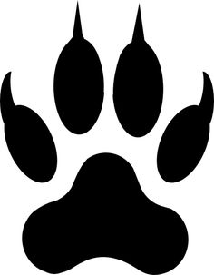 236x303 Bearcat Paw Clip Art Bear Paw Tracks Free Cliparts That You Can