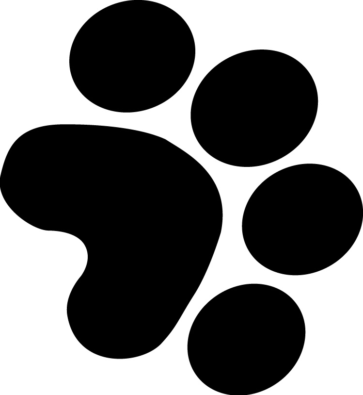 bear paw silhouette at getdrawings com free for personal use bear rh getdrawings com free bear claw clipart