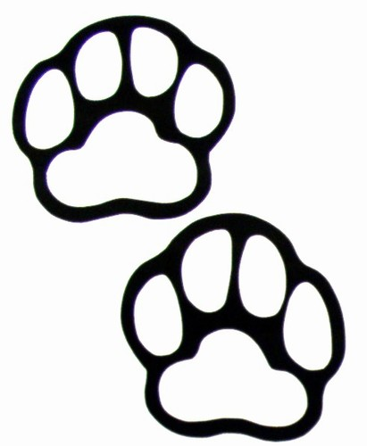 411x500 Grizzly Bear Paw Print Clipart Free Images 3 Clipartix Paw Print