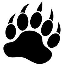 bear paw silhouette at getdrawings com free for personal use bear rh getdrawings com bear paw prints clip art free black bear paw print clip art