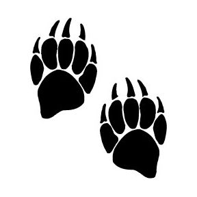 288x288 Potter Tattoos Bear Paw Prints Art {My Body} Bear