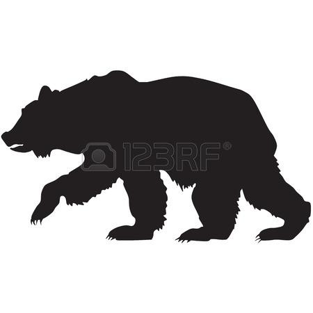 450x450 Black Bear Clip Art