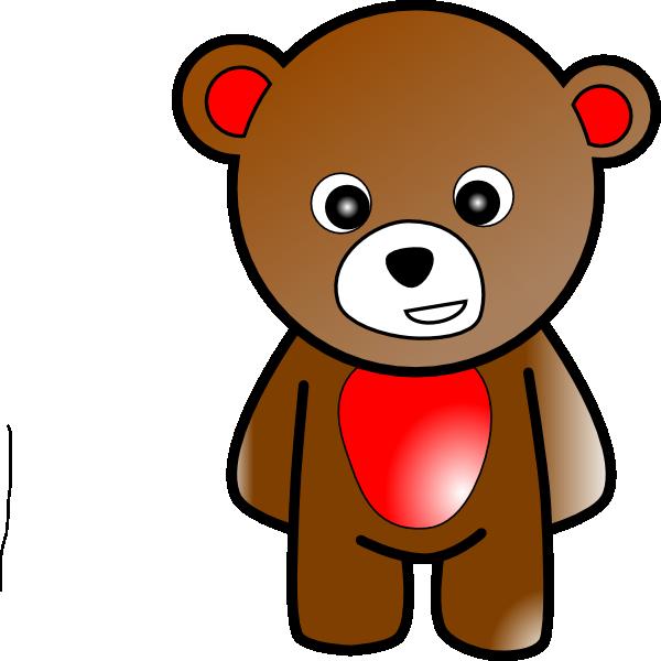 600x600 Bear 2 Clip Art