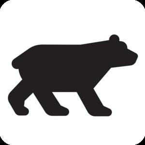 300x300 Bear Black Clip Art