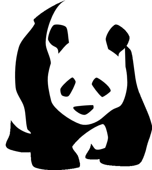 534x597 Panda Drawing Clipart Panda