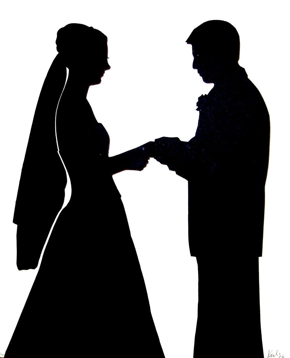 1000x1231 Photos Marriage Silhouette,