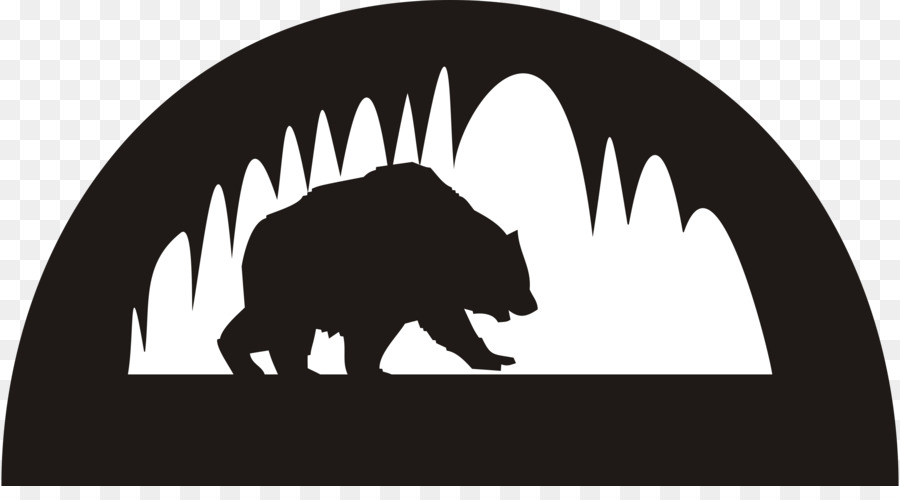 900x500 Bear Cave Drawing Clip Art