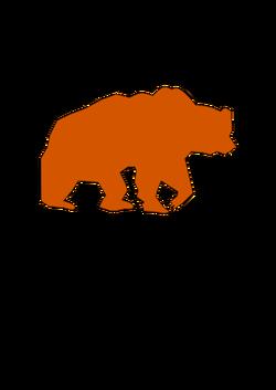 250x353 Bear Silhouette