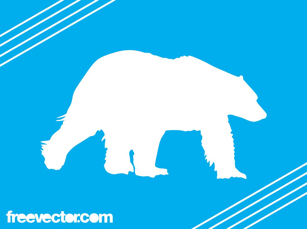 1024x765 Polar Bear Silhouette Vector Art Amp Graphics