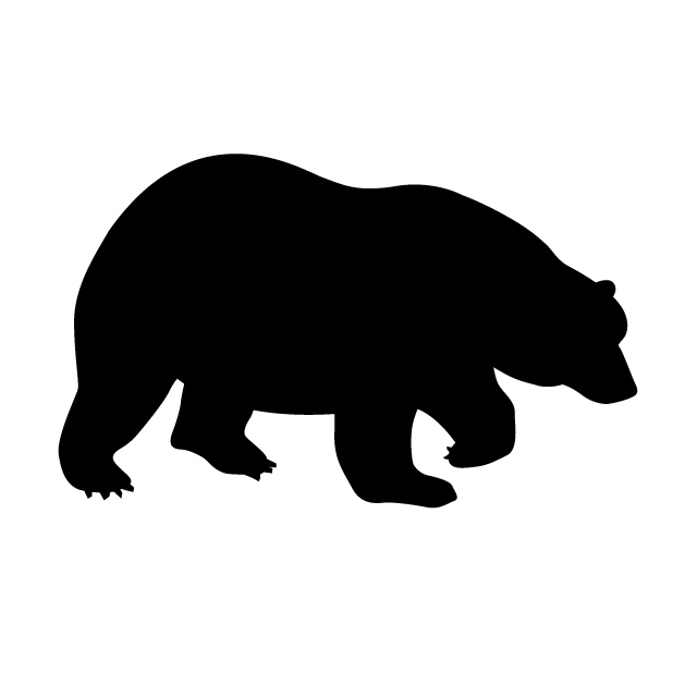 640x640 Bear Animal Silhouette Free Illustrations