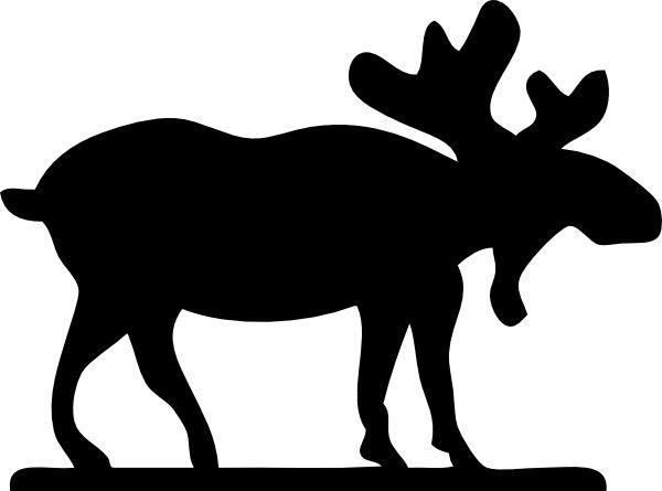 Bear Silhouette Pattern
