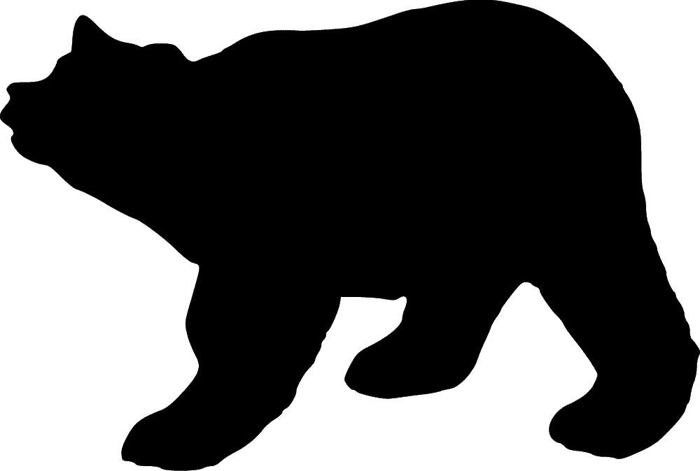 1000x674 Bear Stencil Sp Stencils