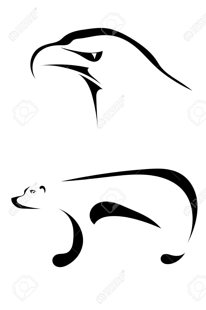 866x1300 Image Result For Bear Silhouette Tattoo Tatoo
