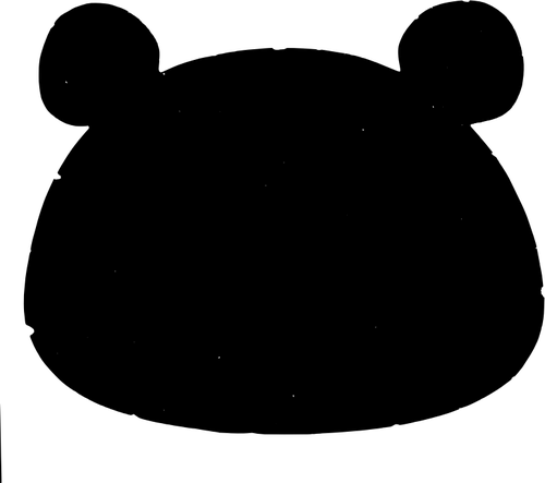 500x443 Bear Silhouette Vector Image Public Domain Vectors
