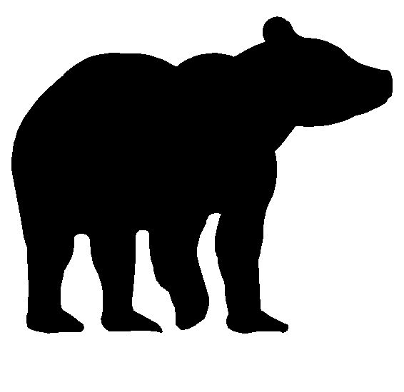 566x550 Bear Silhouette Download Vector About Bear Silhouette Item 5