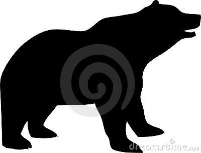bear silhouette vector free at getdrawings com free for personal rh getdrawings com black bear clip art free download teddy bear clipart black and white