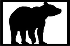 236x156 Bear Silhouette, Bear Silhouette Stock Photos Royalty Free Bear