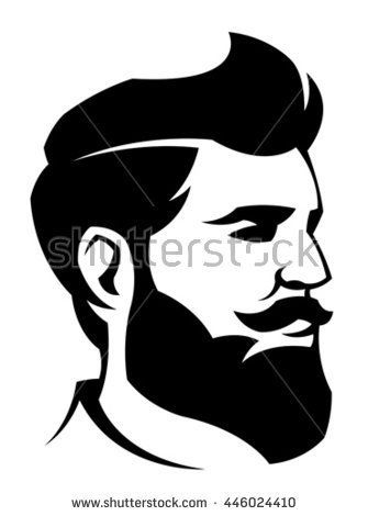 335x470 Man With Beard Picturi Pe Perete Image Vector