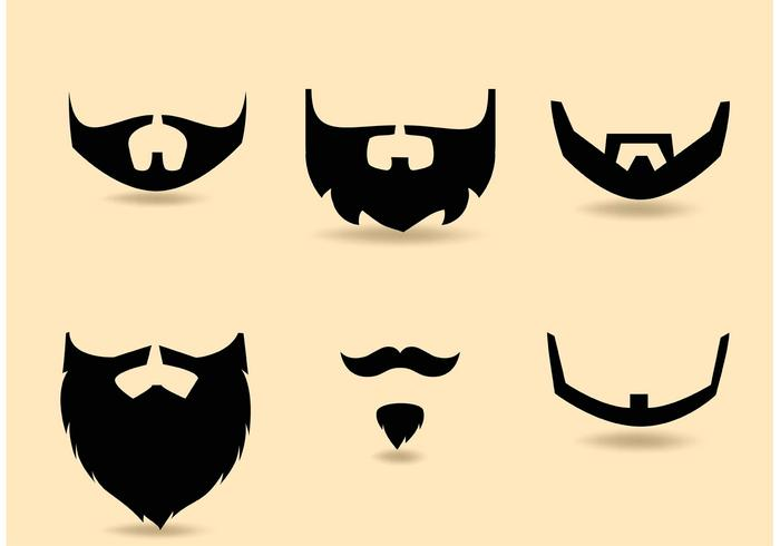 700x490 Beard Free Vector Art