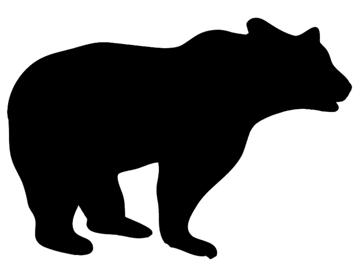 1181x867 Clip Art Black Bear Silhouette Clip Art